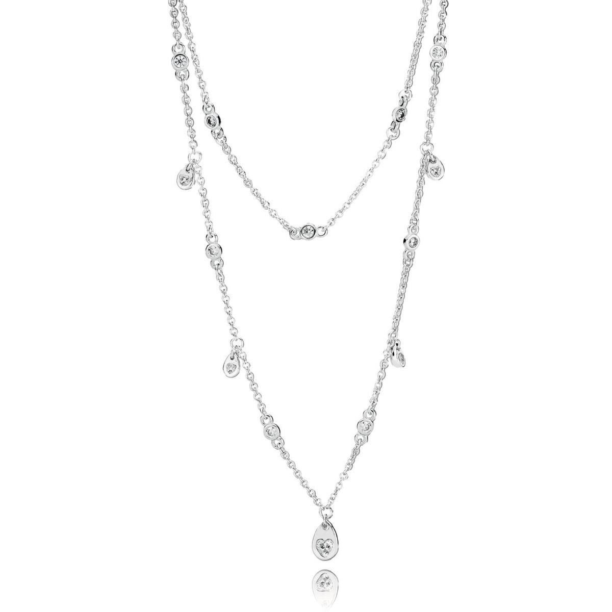 2e13f8f445b6a0 inexpensive pandora womens sterling silver chain necklace 590515 45 souq  uae 9d54c 9201c; discount code for pandora chandelier droplets necklace  0c726 c805b