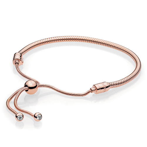Pandora Rose Sliding Charm Bracelet