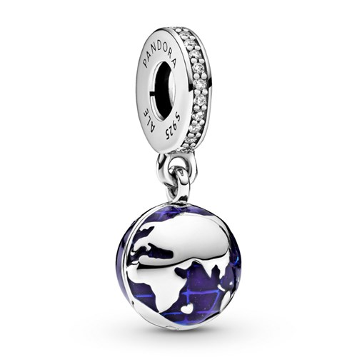 Pandora Our Blue Planet Dangle Charm 798774C01 Alt 1