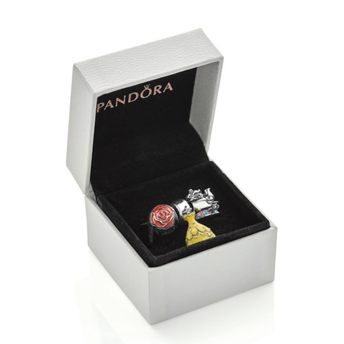 Pandora Disney Beauty The Beast Charm Gift Set Pancharmbracelets Com