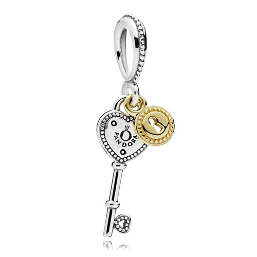 PANDORA Key to My Heart Dangle Charm