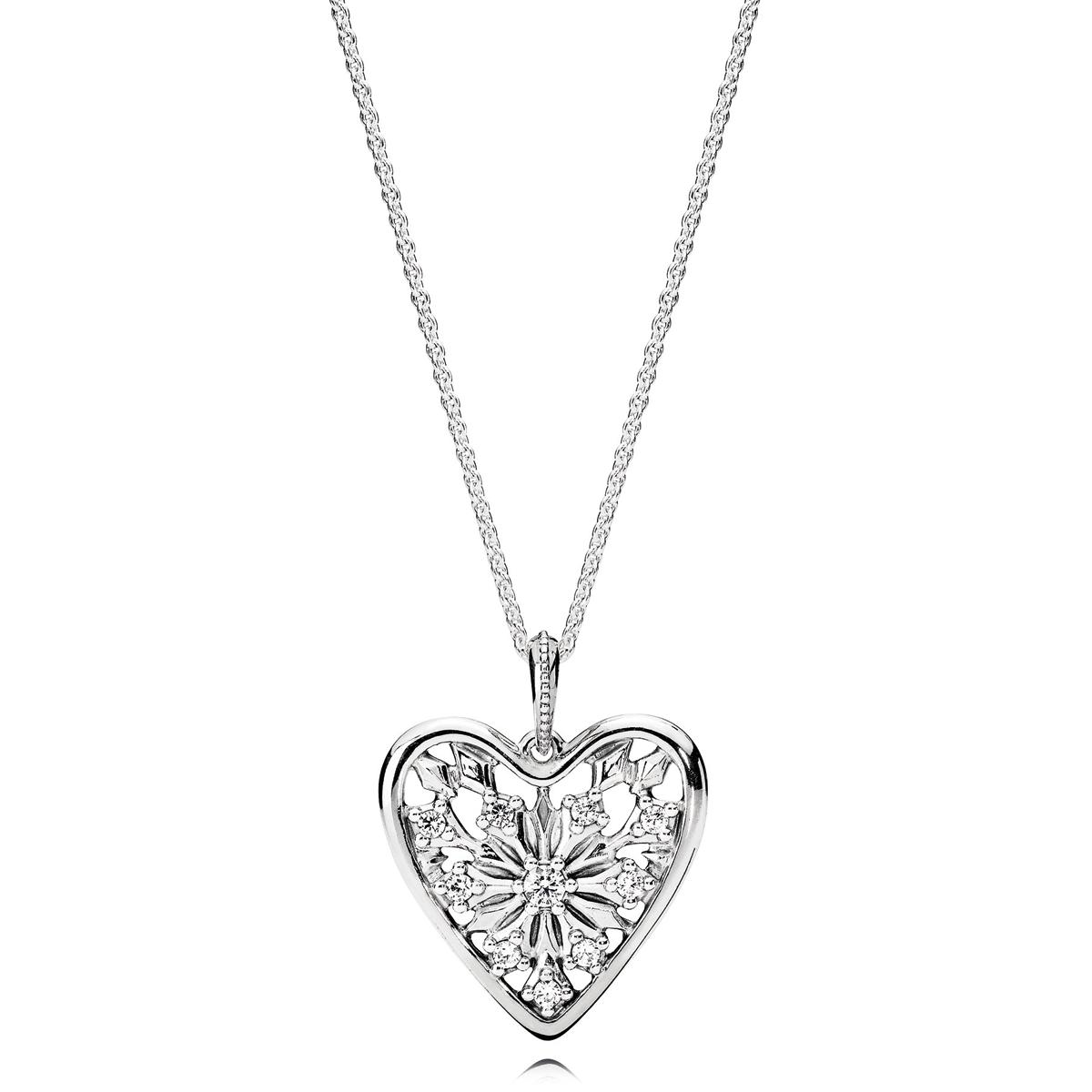 fe62d37fa ... ireland pandora heart of winter cz necklace ca1e2 724bd ...