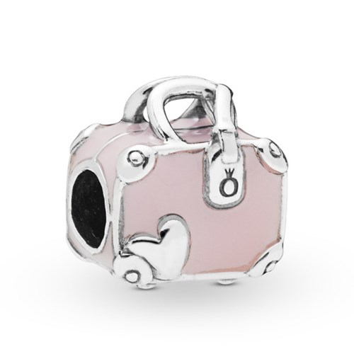 Pandora Pink Travel Bag Charm 798063EN124