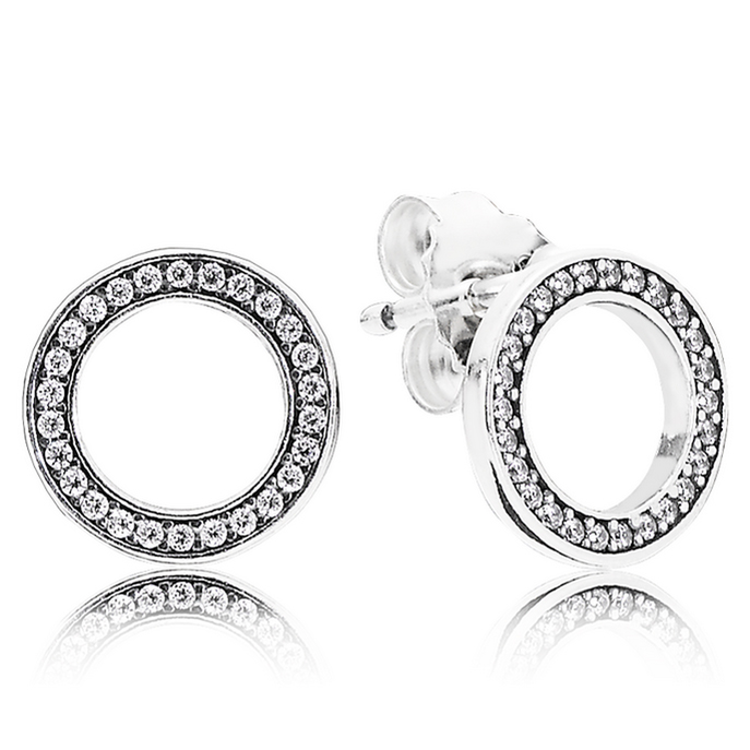 1f95d1161 PANDORA Forever Clear CZ Stud Earrings
