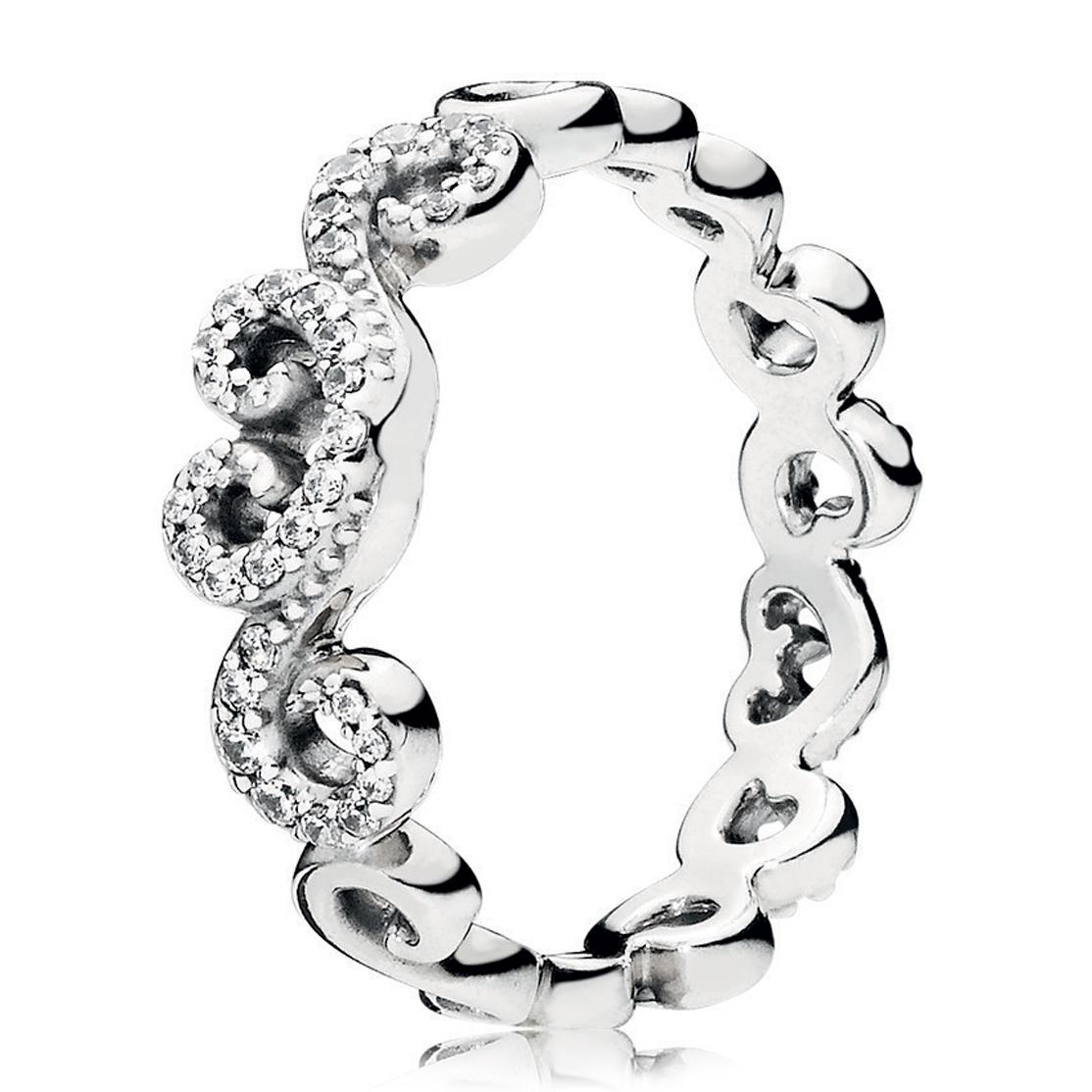 18282d626 PANDORA Heart Swirls Choker Necklace - Pancharmbracelets.com