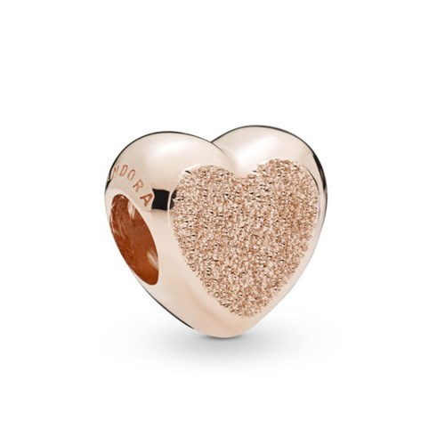 PANDORA Rose™ Matte Brilliance Heart Charm 787881