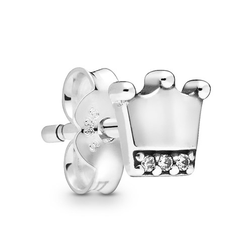 Pandora My Crown Single Stud Earring 298553C01