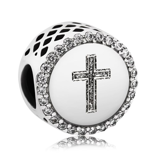 PANDORA Faith Cross Charm