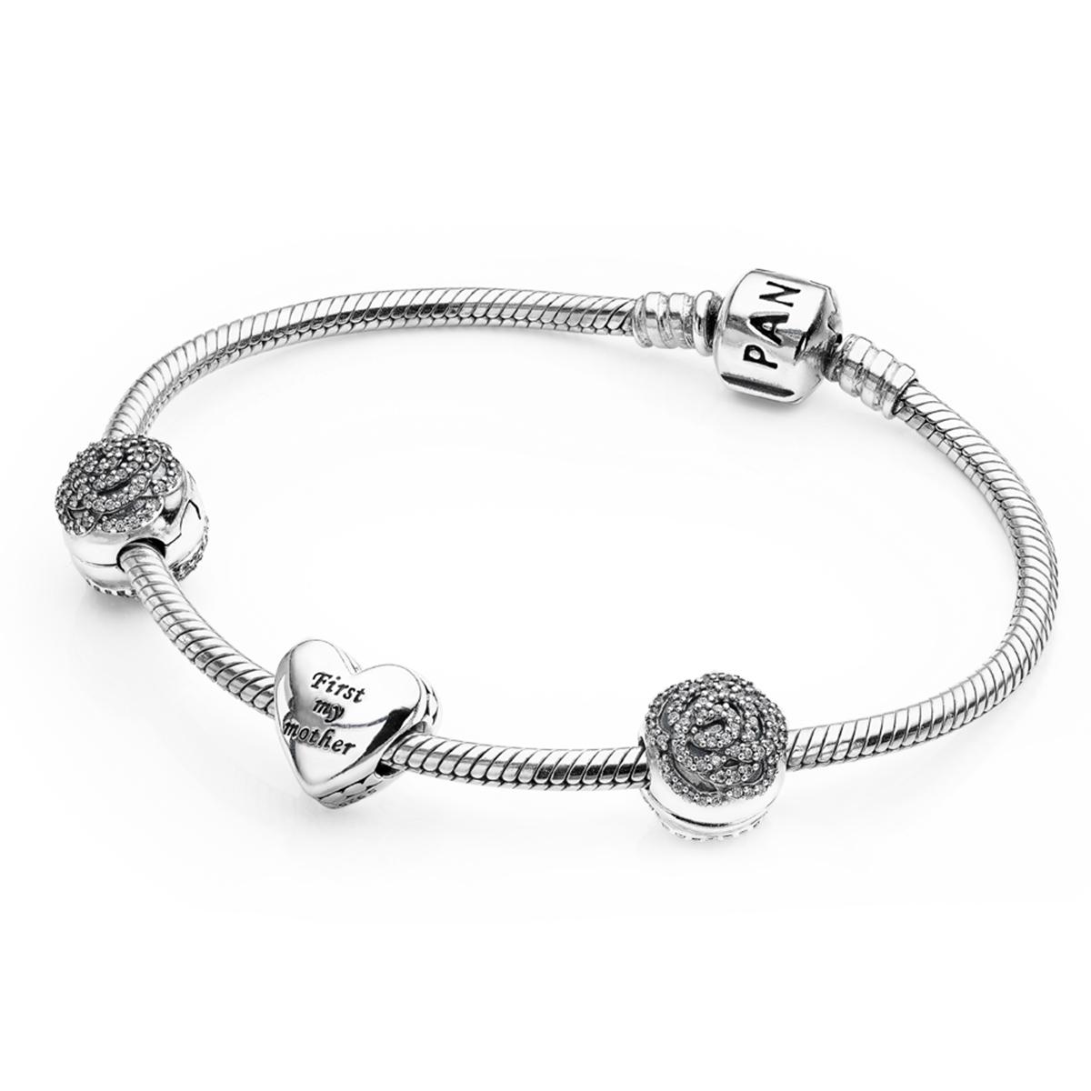 PANDORA Bouquet Of Love Bracelet Gift Set