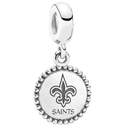 PANDORA New Orleans Saints NFL Hanging Charm 346560 RETIRED