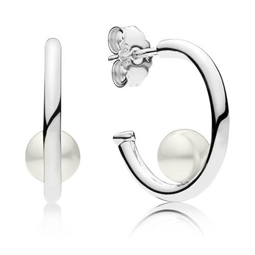 PANDORA Contemporary Pearls Earrings 297528P