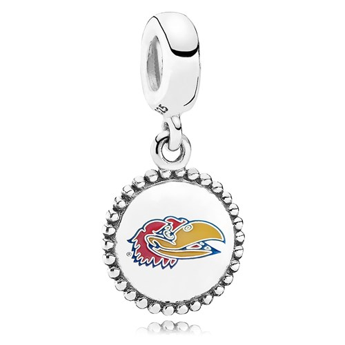 PANDORA The University of Kansas Dangle Charm ENG791169_67