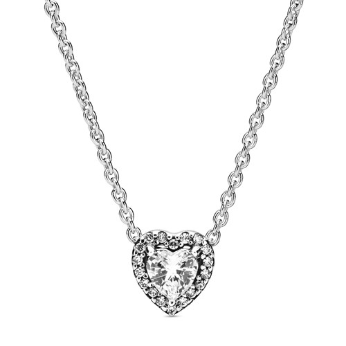 Pandora Elevated Heart Necklace 398425C01