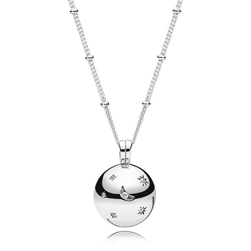 PANDORA Moon and Stars Necklace 397537CZ