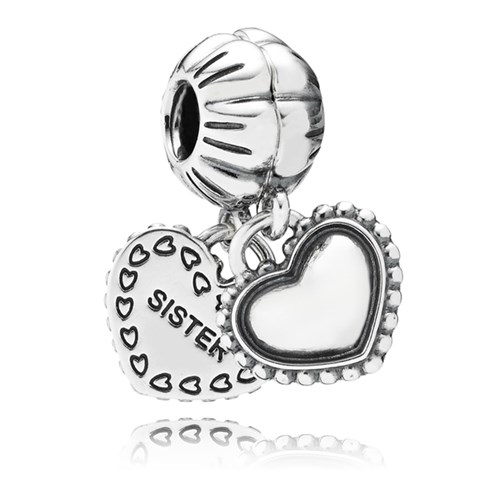 PANDORA My Special Sister Dangle Charm