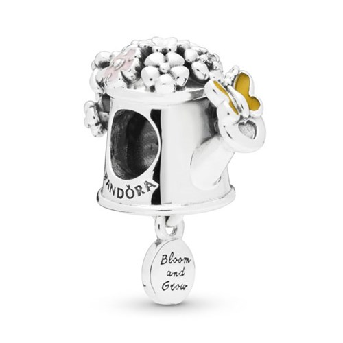 PANDORA Blooming Watering Can Dangle Charm 797873ENMX