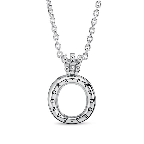 Pandora Pandora Lockets Crown O Necklace 398332