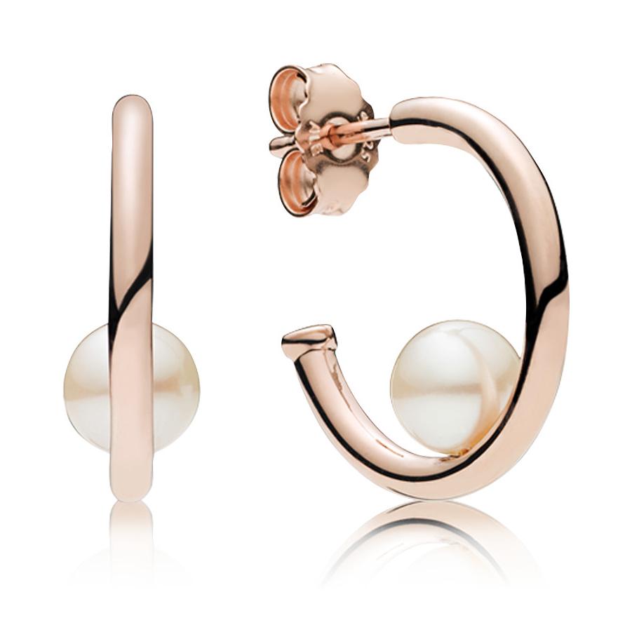 Pandora Rose Contemporary Pearls Earrings 287528p