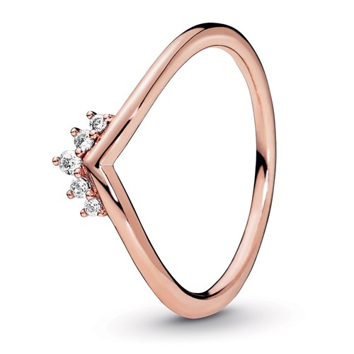Pandora Rose™ Tiara Wishbone Ring 188282CZ