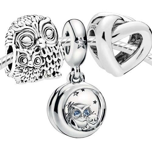"Pandora ""I'll Owl-ways Be By Your Side"" 4002"