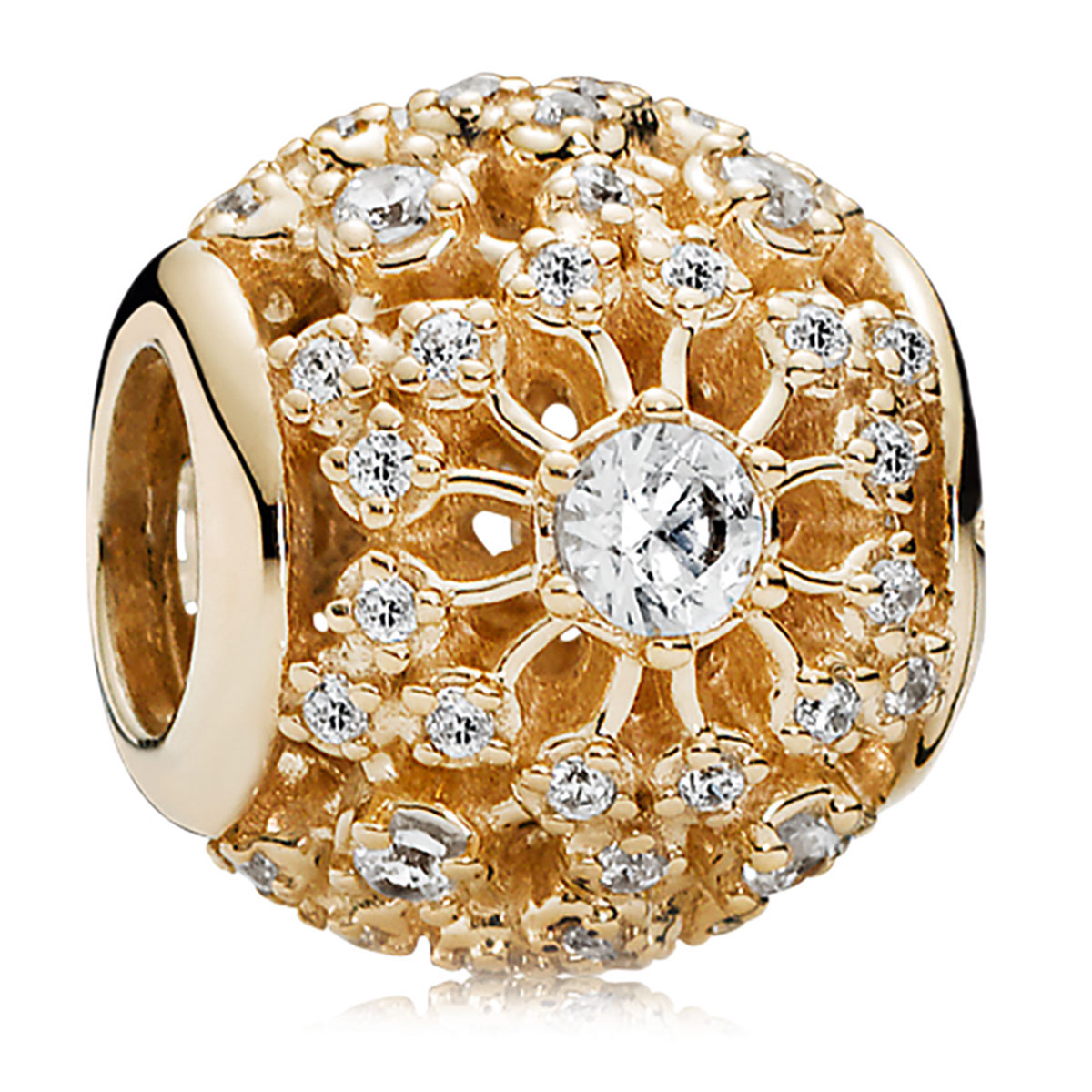 c522b683f PANDORA 14KT Gold Charms - Pancharmbracelets.com