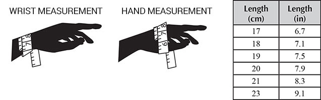Next Find The Closest Bracelet Size Some Customers Prefer To Roll Over Hand When Measuring For A That Will Across