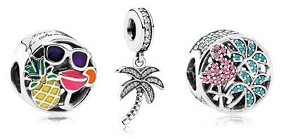 PANDORA Summer Charms and Jewelry
