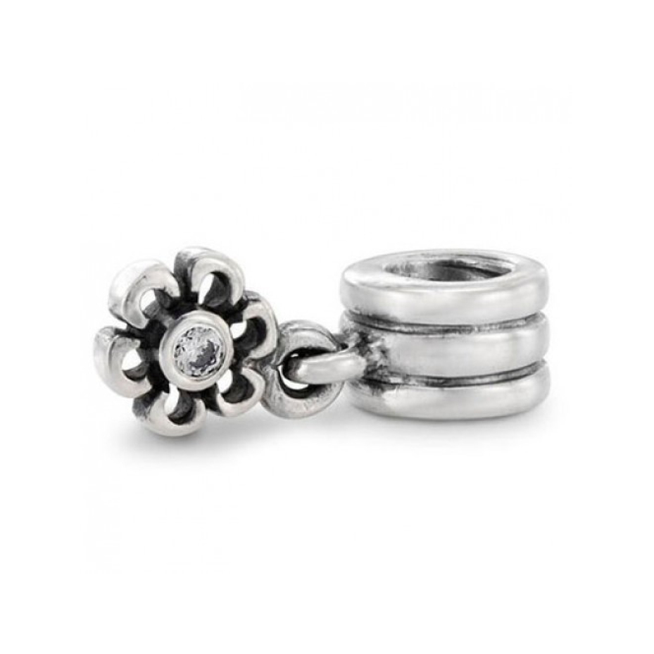 290dd0c65 PANDORA Dangling Daisy with CZ Charm RETIRED- ONLY 1 LEFT! 790196CZ