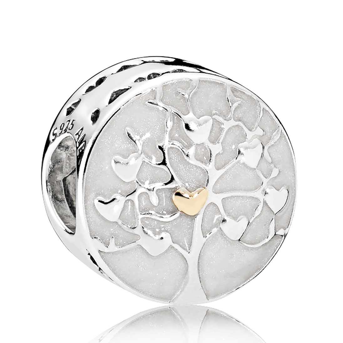 768164bcc PANDORA Sterling Silver & 14KT Gold Charms - Mypanjewelry.com