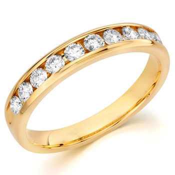 345700-Camelot Bridal Carita Diamond Anniversary Ring