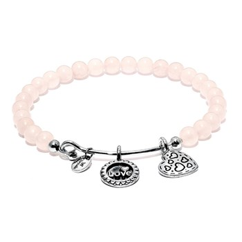 Chrysalis Rose Quartz Joy Bangle-345086 RETIRED ONLY 5 LEFT!