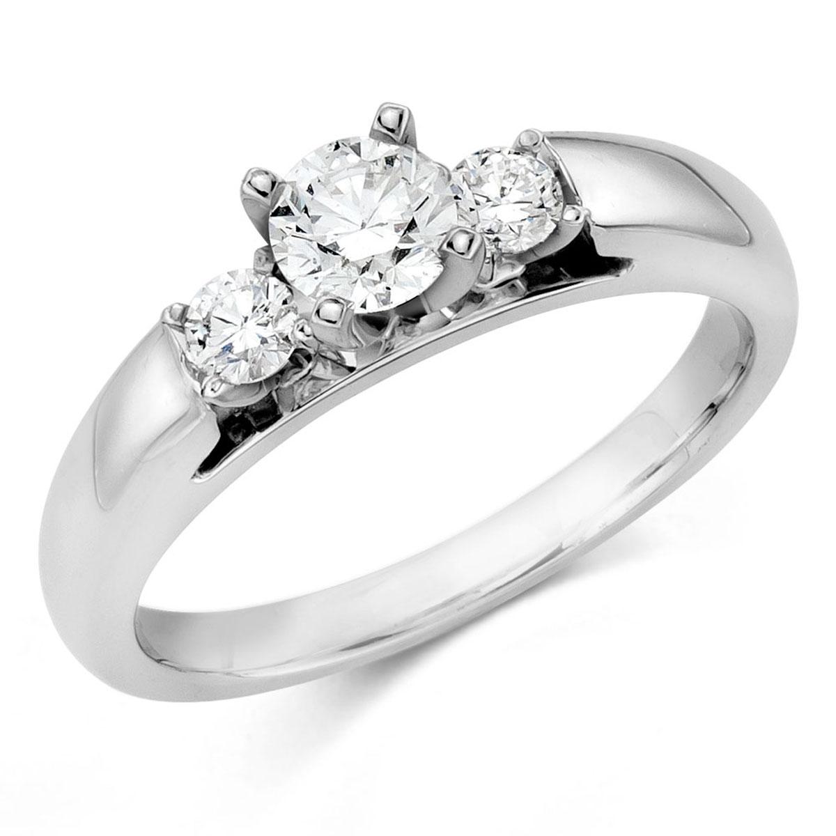 345518 Camelot Bridal Ariel Diamond Ring