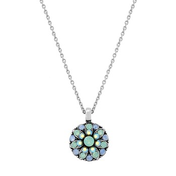 348808-Mariana Green and Blue Angel Necklace