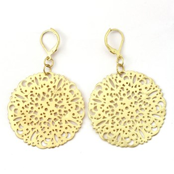 333514-Gold Filigree Disk