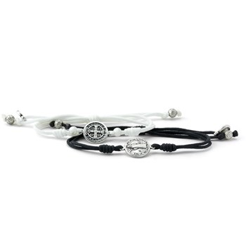My Saint My Hero Forever One Couples Blessing Bracelet