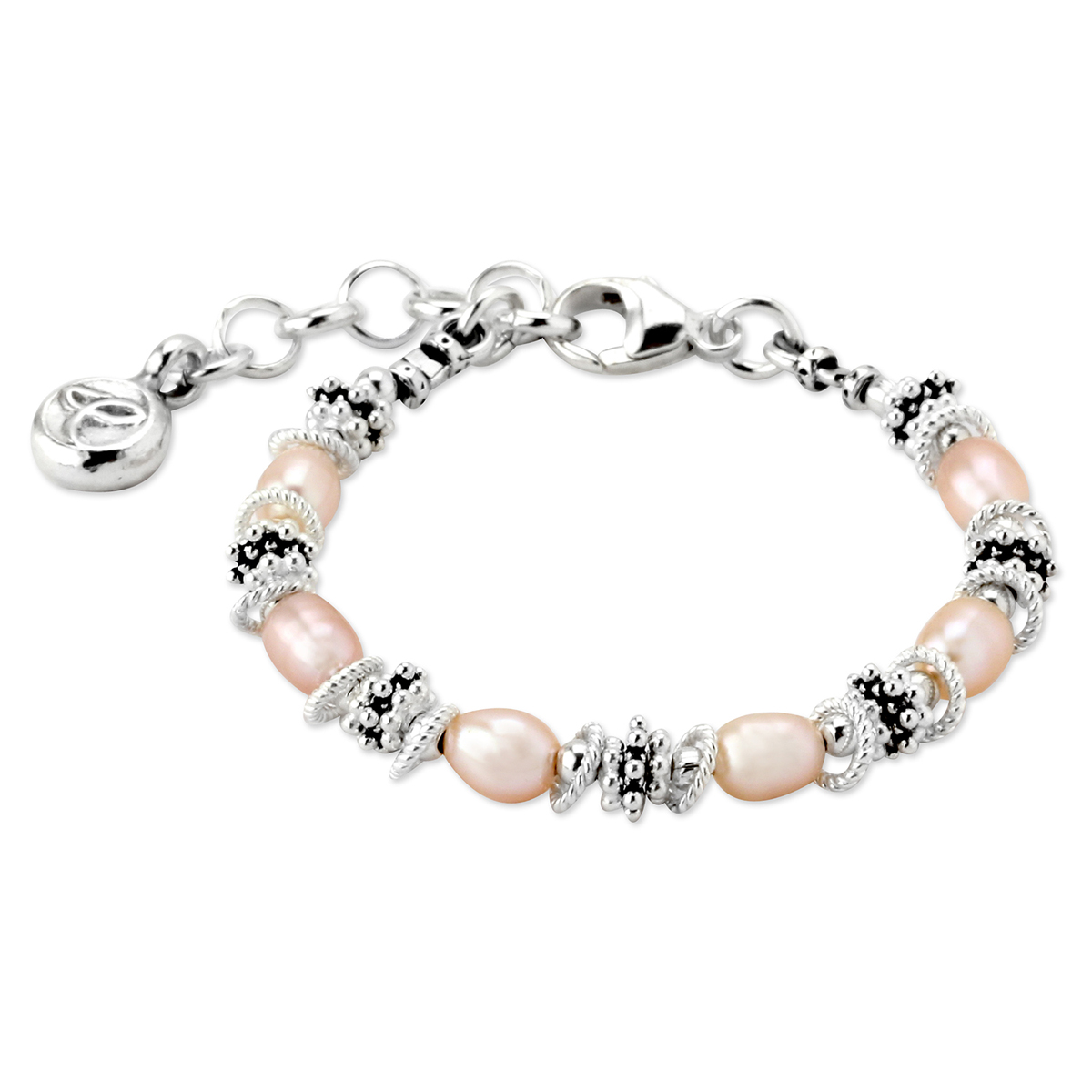 68db9fffd 188111-Elisa Ilana Pink Freshwater Pearl Baby Bracelet