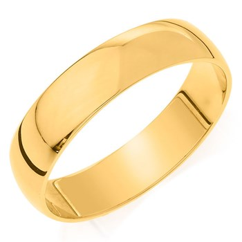 Camelot Bridal Men's Comfort Feel 5mm Wedding Band
