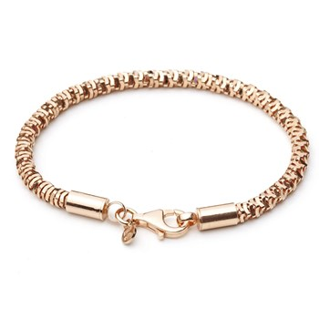 Mi Moneda Rose Gold-Plated Gusto Bracelet ONLY 1 LEFT!