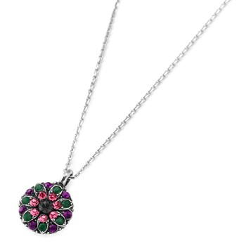 348791-Mariana Multi-Color Angel Necklace