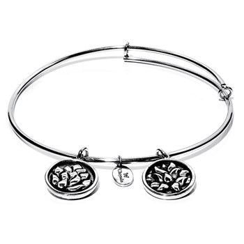 Water Lily Bangle - Chrysalis Flourish Collection RETIRED ONLY 3 LEFT!