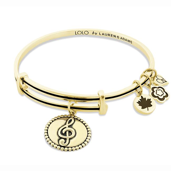 Lauren G Adams Lolo Music Bangle