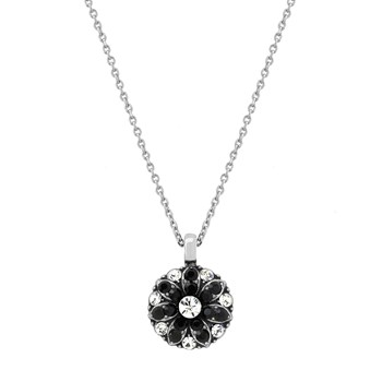 348809-Mariana Sparkling Black Angel Necklace