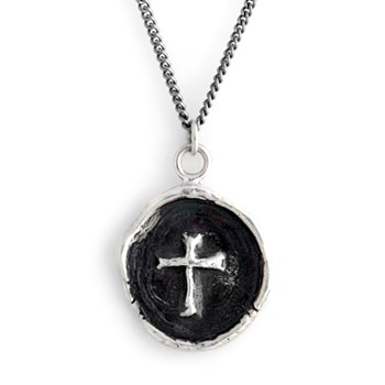347893-Pyrrha Cross Talisman Necklace
