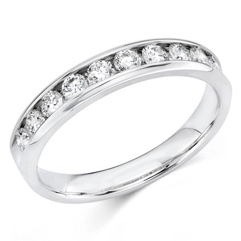 345701-Camelot Bridal Carita Diamond Anniversary Ring
