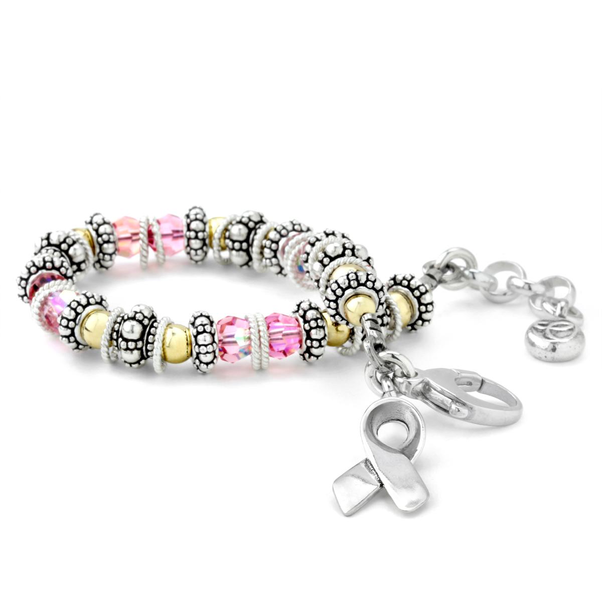 afa9e2fd5 Elisa Ilana Breast Cancer Awareness Bracelet