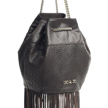 UNOde50 Isabel Brown Fringe Handbag