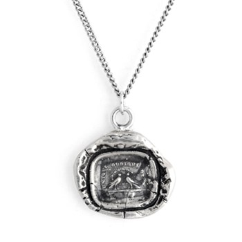 348713-Pyrrha Rare Birds Talisman Necklace