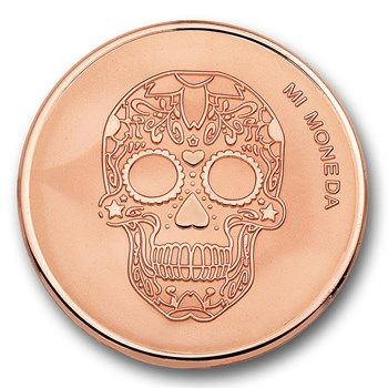 Mi Moneda Skull & Fire Disc ONLY 4 LEFT!