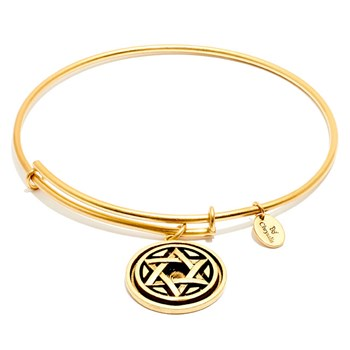 Chrysalis Star of David Bangle