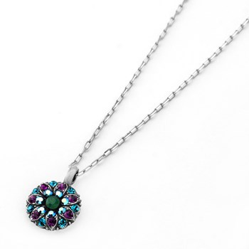 348789-Mariana Purple and Blue Angel Necklace